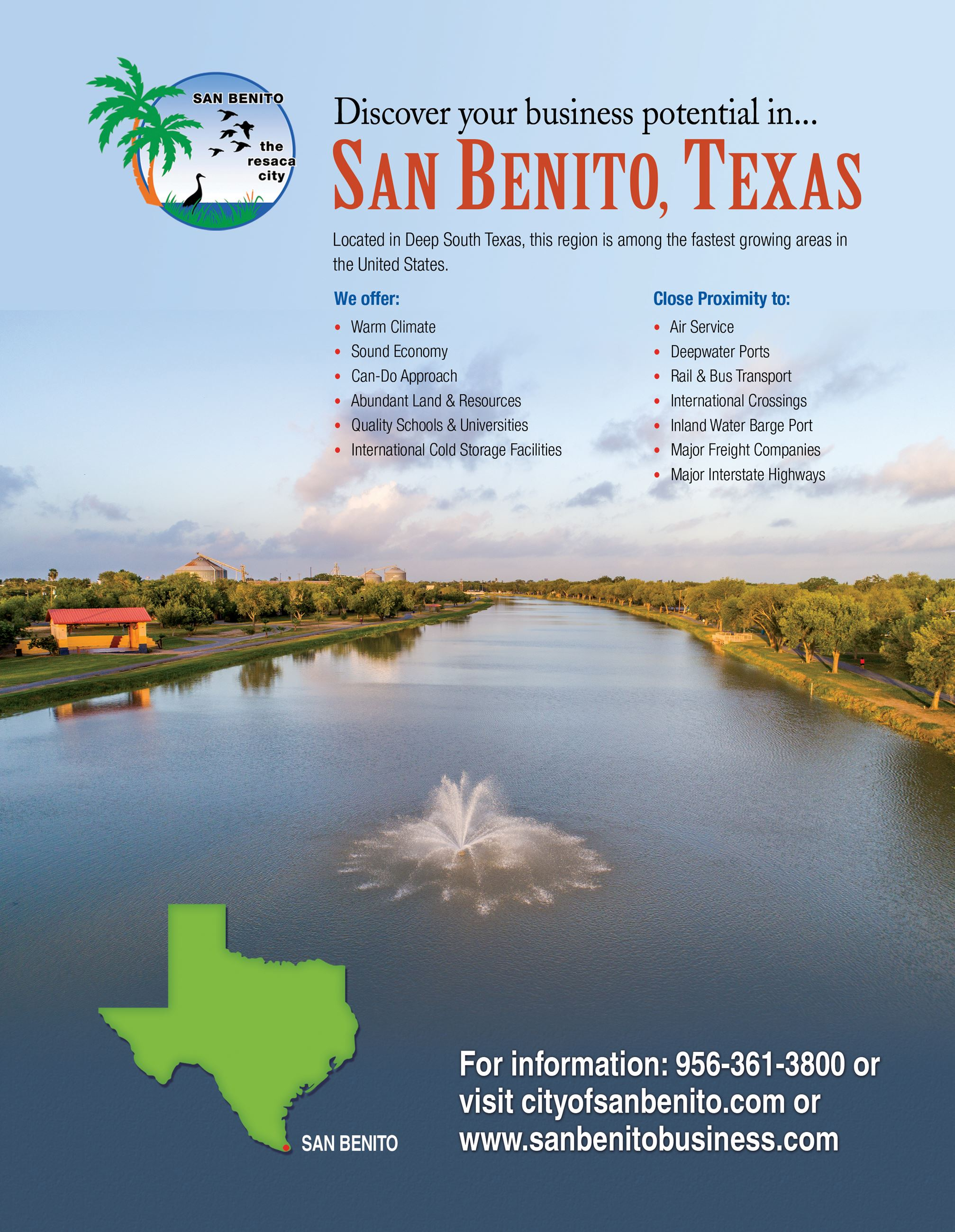 City of San Benito_Guide to RGV_1  ad 2017