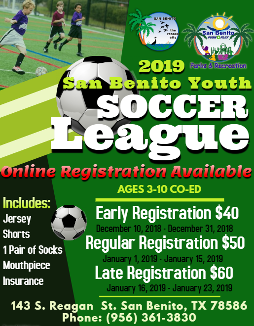 Soccer League Registraion