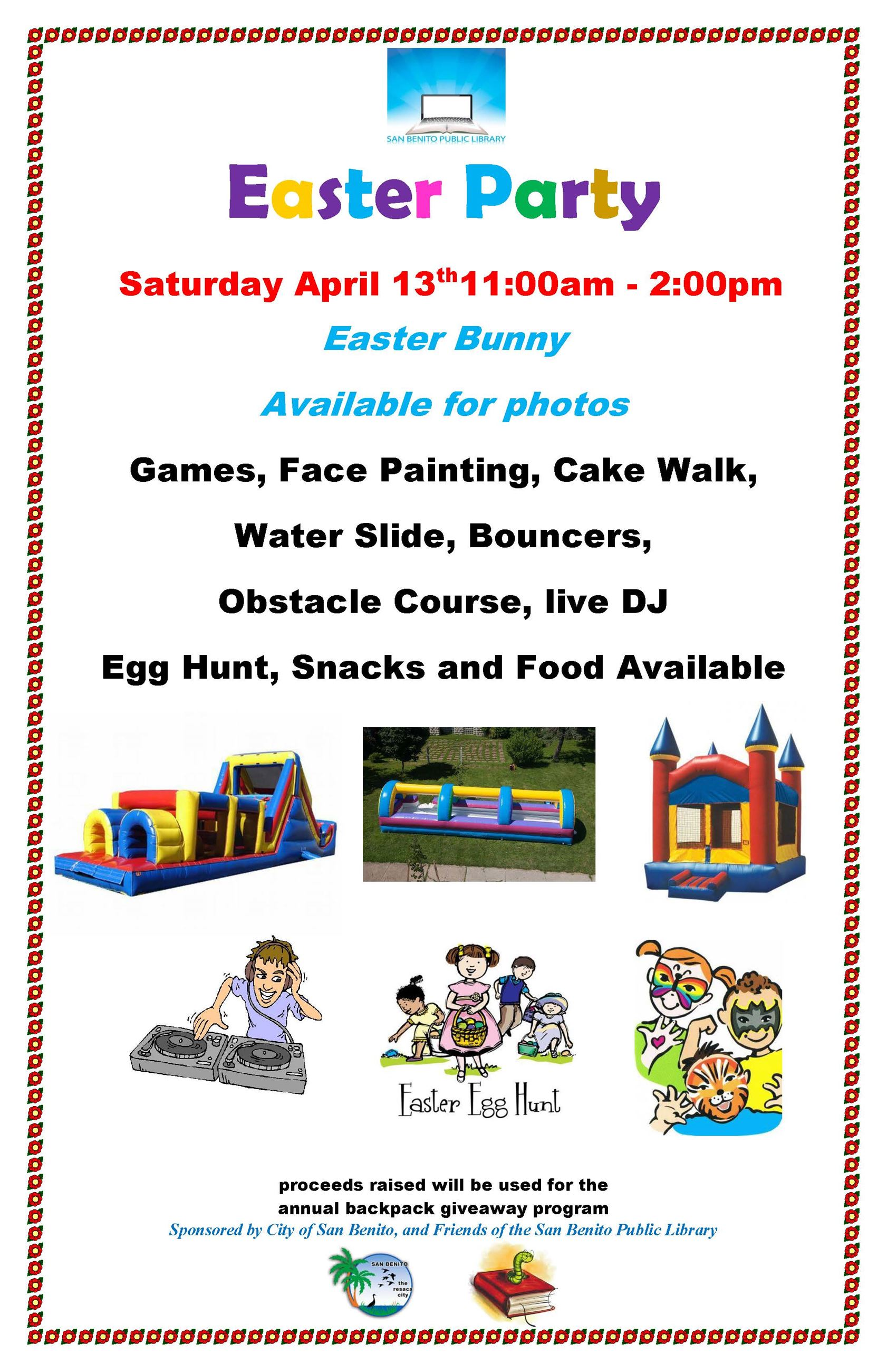 Easter Program 2019 Attractions Flyer