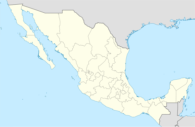 A map of Mexico
