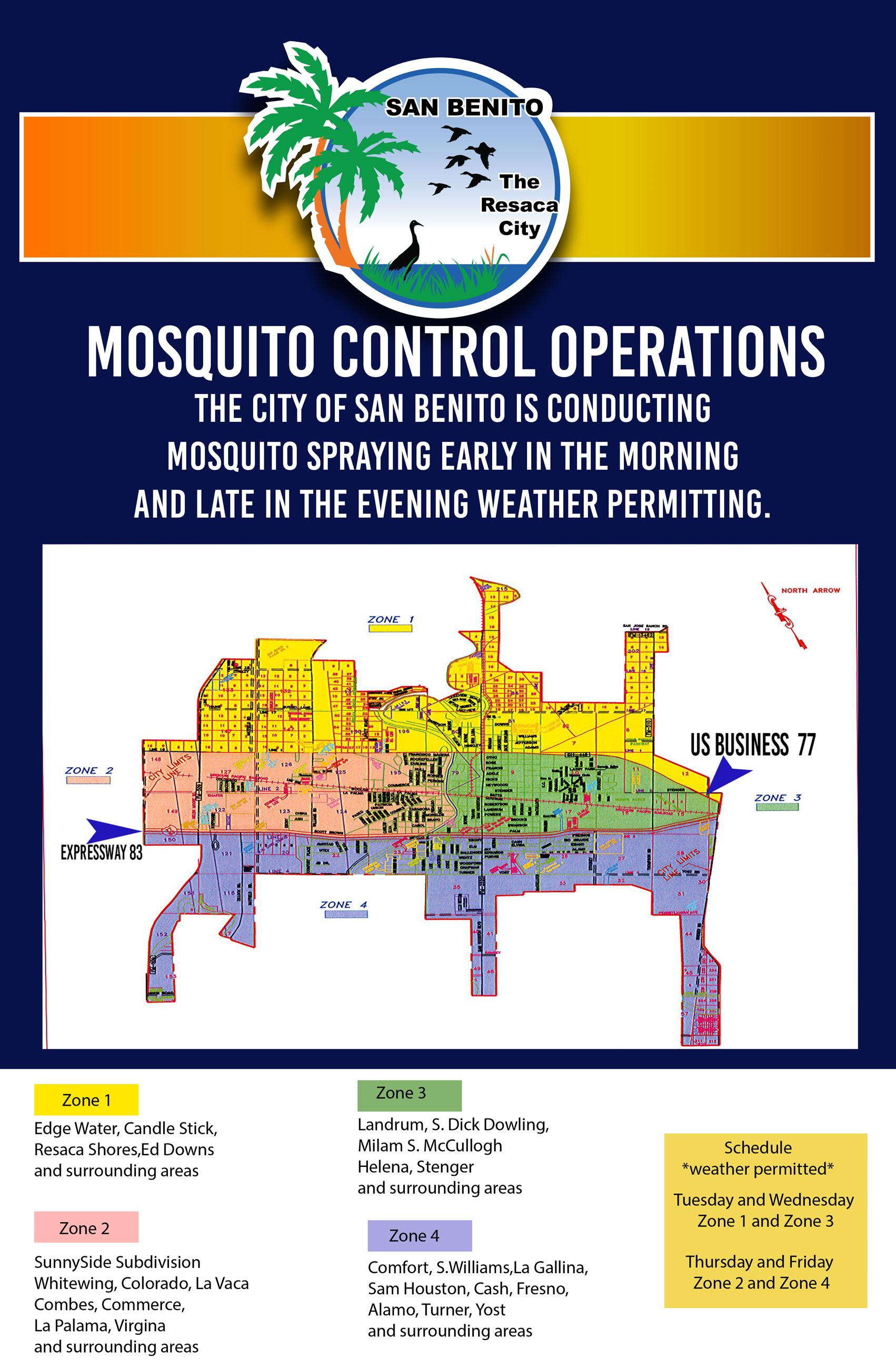 Mosquito Spray Map